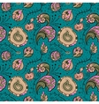 Seamles floral pattern vector image