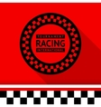 Racing stamp-03 vector image
