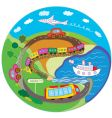 cute travel concept vector image