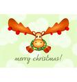 Nengajo New Year card vector image vector image