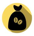 coffee bag icon coffee bag  coffee bag vector image