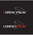 Phoenix logo set vector image