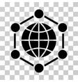 global frame icon vector image