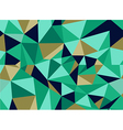 Trendy abstract geometric seamless pattern vector image vector image
