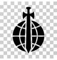 global guard icon vector image