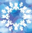 magical christmas vector image