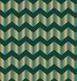 Chevron green foil vector image
