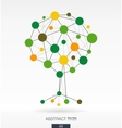 Growth tree concept vector image