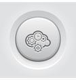 Cloud Processing Icon vector image vector image