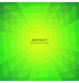 Abstract Green Geometric Tunnel Background vector image