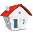 funny little house vector image