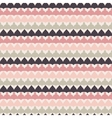 Cute retro abstract stripe seamless pattern vector image