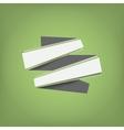 Flat color ribbons vector image