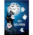 Haunted house on the hill vector image