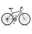 object bike vector image