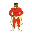 comic cartoon superhero vector image