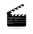 open movie slate vector image