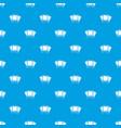 photos pattern seamless blue vector image