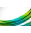 Colorful wave line abstract background with light vector image