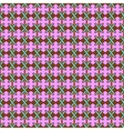 Line and cross seamless pattern 1107 vector image