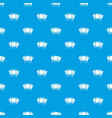 photos pattern seamless blue vector image