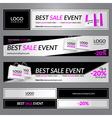 Best sale event vector image