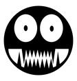 Monstar icon vector image