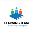 Team Learning Design vector image