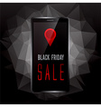 Black Friday sale promo vector image