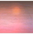 Sky Clouds Sunset Background vector image vector image