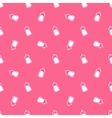 Baby milk bottle seamless pattern vector image