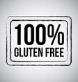 Gluten vector image