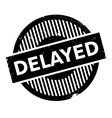 Delayed rubber stamp vector image