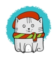 Cute Little Kitty vector image
