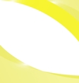 Abstract light yellow wave background vector image