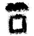 Black Blots vector image vector image