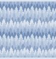 seamless winter pattern of fir trees vector image