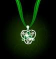 jewelry pendant vector image vector image