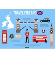 England travel background with place for text Set vector image