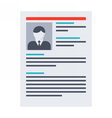 Human Resource Concept vector image