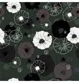 Seamless ornate decorative floral pattern vector image