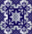 silver cobalt reflief sq vector image
