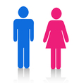 Pictograms people Man Icon Sign Symbol Pictogram vector image vector image