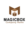 Magic Box Design vector image
