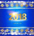 calendar design template vector image