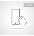 Modern Technology Smart Phone Icon vector image