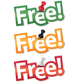 Sticker set Free vector image