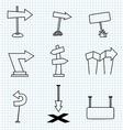 Cartoon Arrows vector image vector image