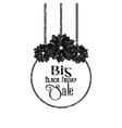 Big Black Friday Sale vector image
