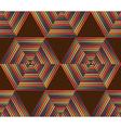 Seamless Geometric Retro Pattern vector image vector image